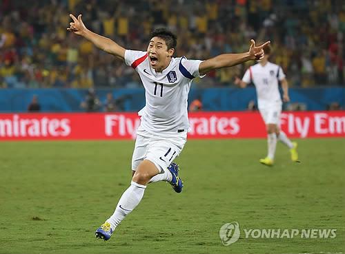 简讯:世界杯H组韩国1-1战平俄罗斯