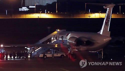 朝鲜高层代表团结束访韩之行 启程返回平壤