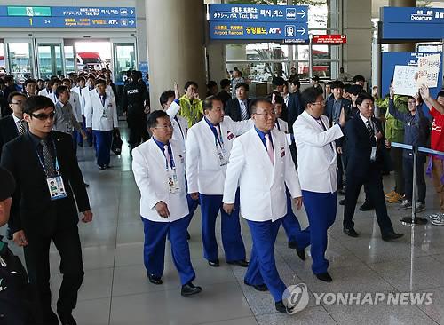 朝鲜亚运代表团178人今日返回平壤