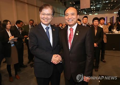 韩未来部长官会见赵厚麟 商定加强韩国与ITU合作