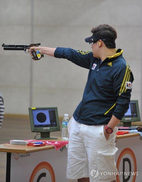 Jeux asiatiques : le tireur Jin Jong-oh tentera de boucler la boucle