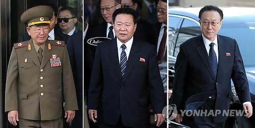 Altos funcionarios norcoreanos visitan Corea del Sur para asistir a la ceremonia de clausura de los JJ.AA.
