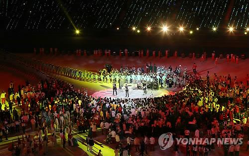 Se clausuran los Juegos Asiáticos de Incheon