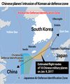 Chinese planes' intrusion of Korean air defense zone