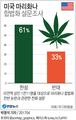美 국민 61%, 마리화나 합법화 지지