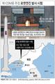 북 ICBM용 추정 로켓엔진 발사 시험