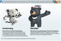 Mascottes des JO d'hiver et paralympiques de PyeongChang 2018