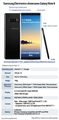 Samsung Electronics showcases Galaxy Note 8