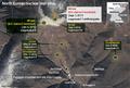 North Korean nuclear test sites