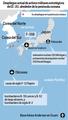 Despliegue actual de activos militares estratégicos de EE. UU. alrededor de la península coreana
