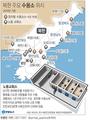북한 주요 수용소 위치