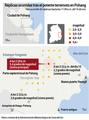 Réplicas ocurridas tras el potente terremoto en Pohang