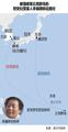 被强掳至丘克群岛的慰安妇受害人李福顺移动路径