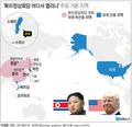 미 언론, 북미 정상회담 장소 스웨덴, 스위스 등 유력 검토