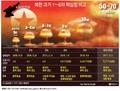 북한 과거 1~6차 핵실험 비교