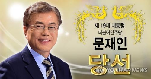 مون جيه إن يصبح رسميا رئيسا منتخبا لكوريا الجنوبية بحصوله على 41.1% من الأصوات