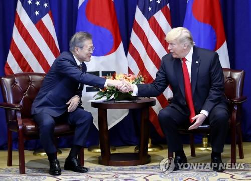 """(جديد)ترامب يقول ان القمة الثانية مع الزعيم الكوري الشمالي ستعقد في """"المستقبل غير البعيد"""""""