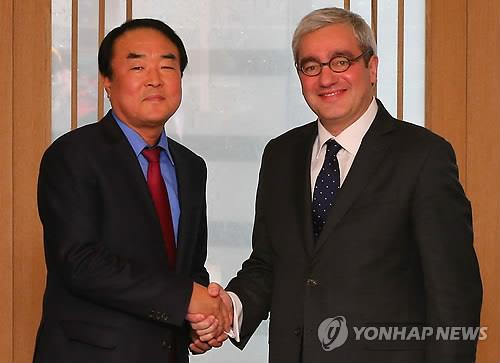 Yonhap, AFP agree to expand news exchange, cooperation