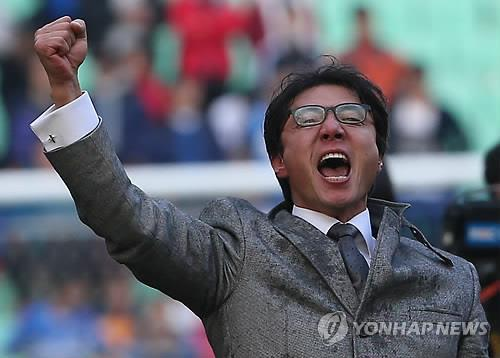 Potential candidate for nat'l football coaching job focused on current club<img src='http://img.yonhapnews.co.kr/basic/home/icoarticle.gif' border='0' alt='관련기사'>