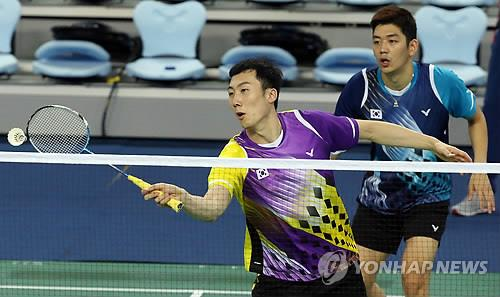 (Asiad) World's top-ranked badminton duo vows best performance on home soil