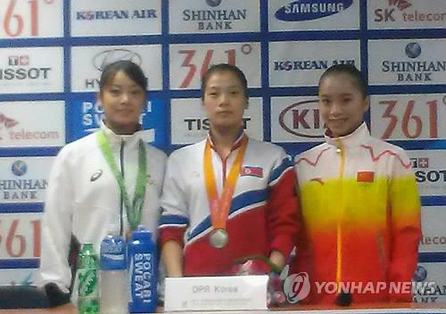 (LEAD) (Asiad) N. Korea grabs silver in women's team gymnastics