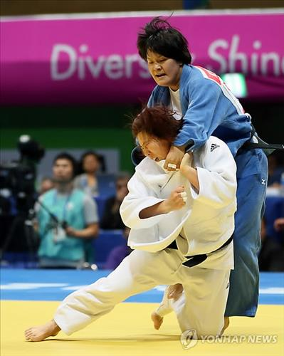 (Asiad) More S. Korean titles in judo, shooting as China runs away in medals