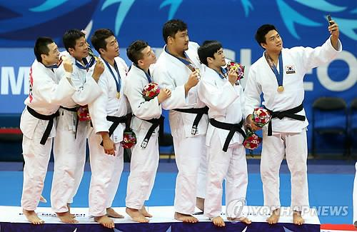 (Asiad) More golden moments in judo, fencing; another bronze for Park
