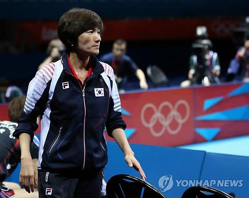 (LEAD) Retired table tennis star booked on drunk driving charges