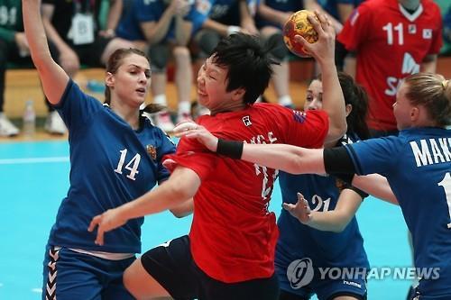 (Universiade) S. Korea settles for silver in women's handball