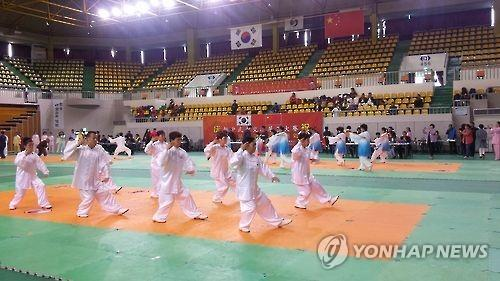 (Yonhap Feature) S. Korean city attracts Chinese tourists with martial arts