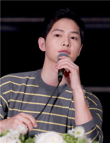 Song Joong-ki says 'Descendants of the Sun' belongs to audience, not actors