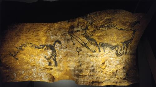 (Yonhap Feature) French Lascaux cave paintings add sparkle to hidden gem Gwangmyeong Cave