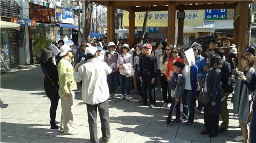 (Yonhap Feature) Past meets present in Seochon