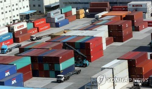 (3rd LD) S. Korea's exports drop 11.2 pct on-year in April