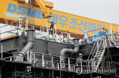 Daewoo Shipbuilding swings to black in Q1