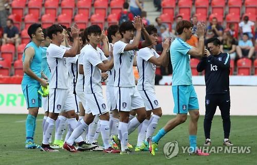 (News Focus) S. Korean football left with work to do after friendlies in Europe