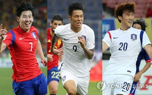 (2nd LD) Tottenham's Son Heung-min named to S. Korean Olympic squad