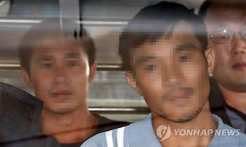 (LEAD) Vietnamese murder suspects arrives in S. Korea