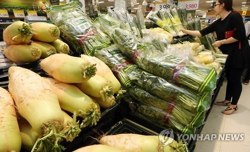 (2nd LD) S. Korea's consumer prices gain 0.8 pct on-year in June
