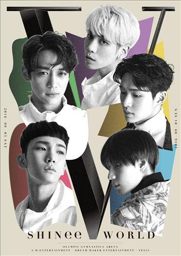 SHINee to hold concert in Sept.