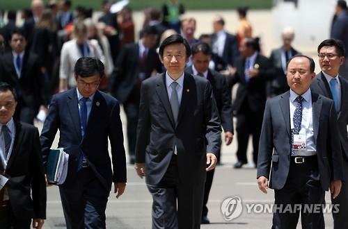 (LEAD) S. Korea to hold bilateral talks with China at regional security meeting