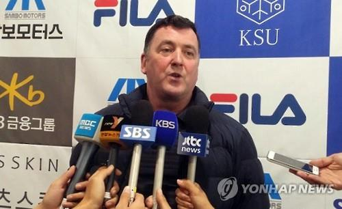 (Yonhap Interview) Figure skating coach Brian Orser sees bright Olympic future for S. Korean teen