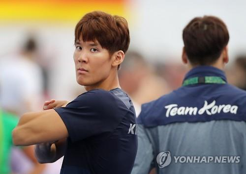 (Yonhap Interview) Rio Olympics all about 'joy' for swimmer Park Tae-hwan
