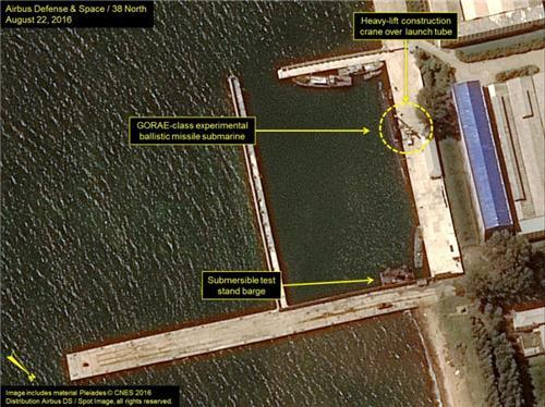 N. Korea developing larger-class submarine for missile launch: expert