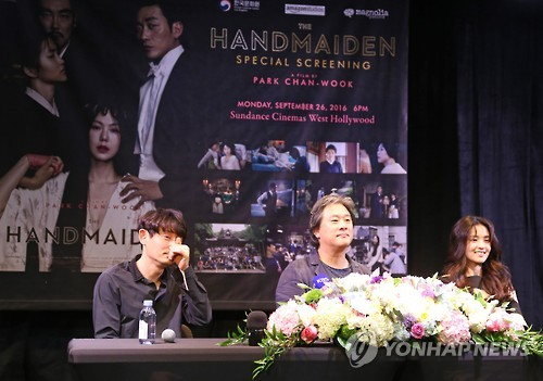 (LEAD) Park Chan-wook owes much of 'The Handmaiden's' success to three main actors