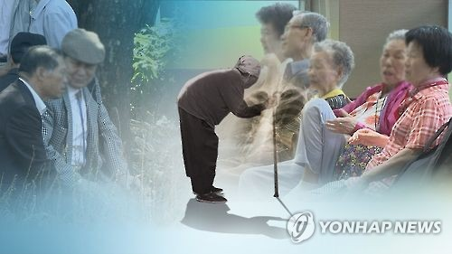 (LEAD) S. Korea's elderly population ratio hits record high in 2015: data
