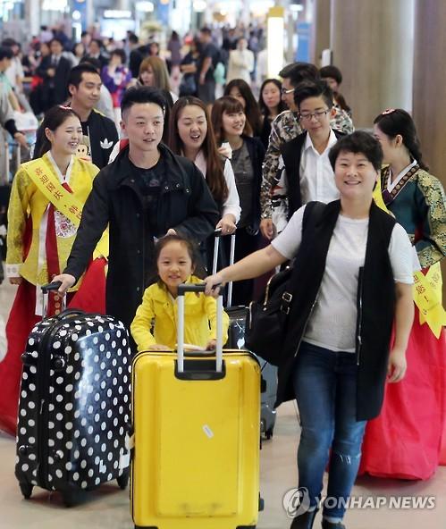 Korea-China flights highly booked during China's holiday period
