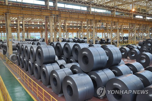 S. Korea to induce steel, petrochemicals firms to cut output, upgrade facilities