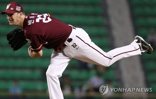 (Yonhap Interview) Baseball club thriving on underdog tag: pitcher