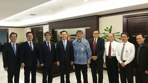 Financial authorities reach out to Shanghai, Jakarta